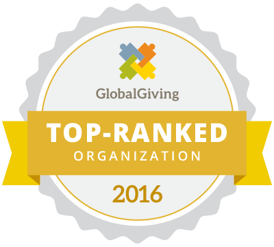 GlobalGiving Top-Ranked Organization 2015